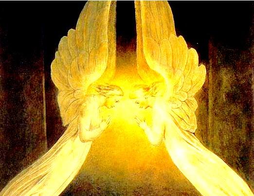 Détail archanges au sépulchre - Stage Archétype du Christ